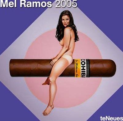mel ramos 2005