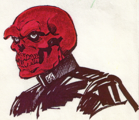 red skull