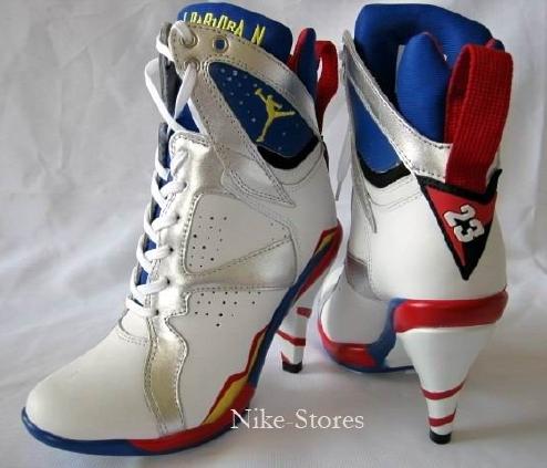 aj high heels