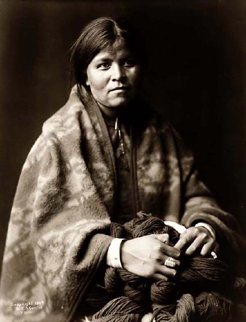 Navajo-Blanket-Maker